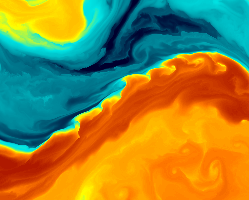 SST of the Gulf Stream